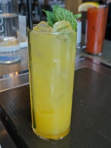 Fists of Fury – mezcal, passion fruit drinking vinegar, absinthe