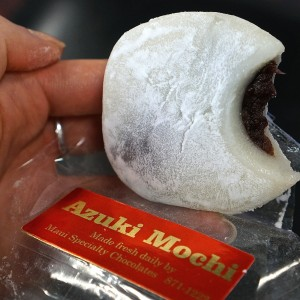 Mochi at Maui Specialty Chocolates