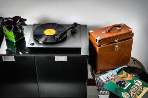 VANCOUVER – Fairmont Pacific Rim Owner's Suite Rega RP1 record player
